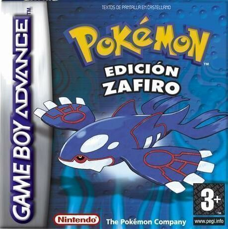 Pokémon Zafiro ( GBA )
