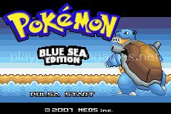 Pokemon Blue Sea Edition (GBA)