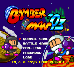 Bomberman '93 TG