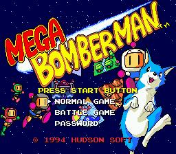 Mega Bomberman GEN