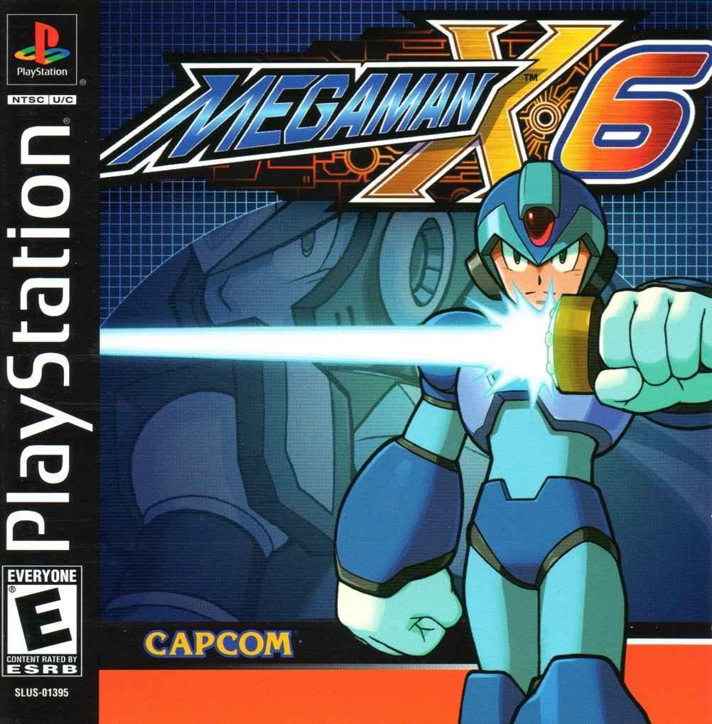 Megaman X6 – PS1