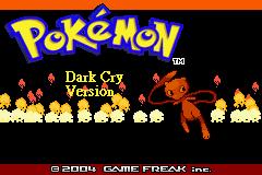 Jogar Pokemon Dark Cry – GBA Gratis Online