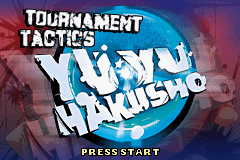 Yu Yu Hakusho – Ghostfiles – Tournament Tactics GBA