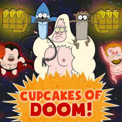 Regular Show Cupcakes of Doom!