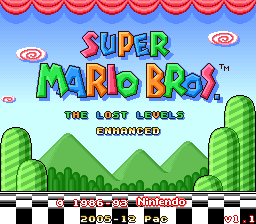 Super Mario Bros: The Lost Levels Enhanced