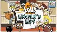 Living Loud: Lincoln's ListLiving Loud: Lincoln's List