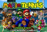 Mario Tennis: Nintendo 64