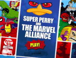 Jogar Super Perry and the Marvel Alliance Gratis Online
