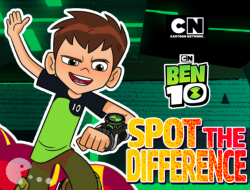 Ben 10 Spot the Differences