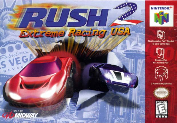 Rush 2 – Extreme Racing USA N64