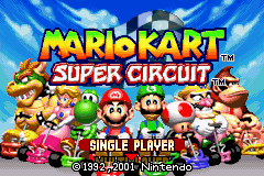 Better Colors Hack of Mario Kart: Super Circuit