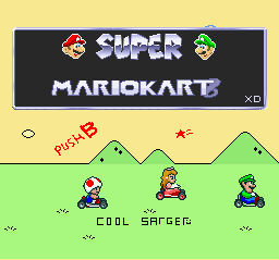 Super Mario Kart 8 – SNES