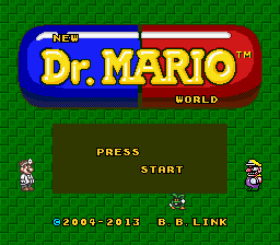 DR. MARIO WORLD REDRAWN