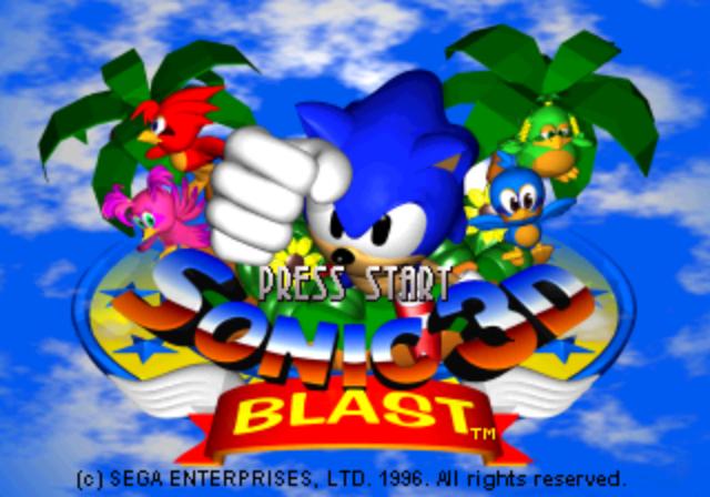 Sonic 3D Blast [SS]