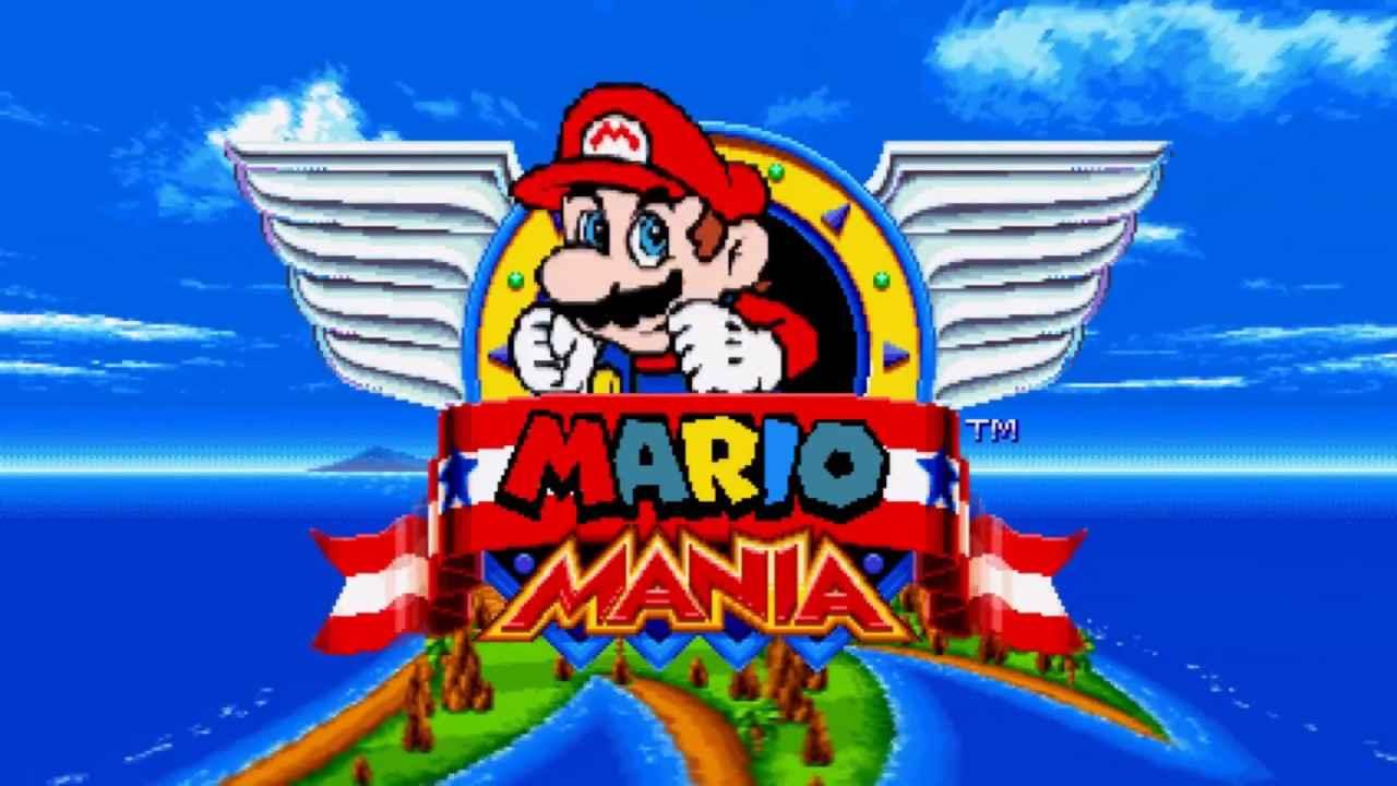 Sonic: Mario Mania