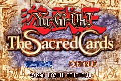 Yu-Gi-Oh! – The Sacred Cards GBA