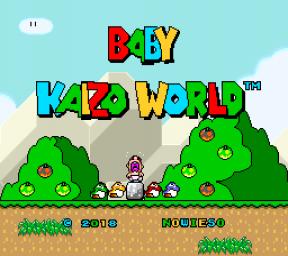 Jogar BABY KAIZO WORLD Gratis Online
