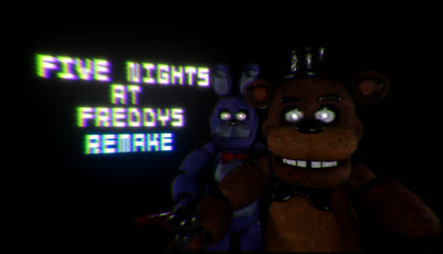 Five Nights At Freddy's Remake: Full First Game
