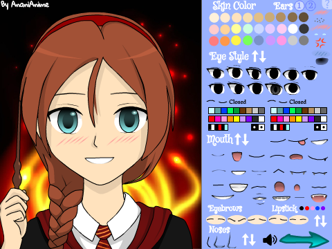 Anime Character Maker (Girl)