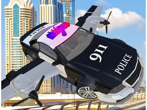 POLICE FLYING CAR SIMULATOR