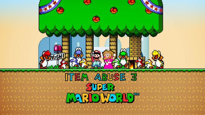 Super Mario World: ITEM ABUSE 3