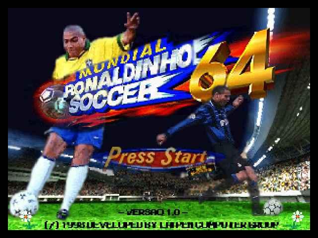 Mundial Ronaldinho Soccer 64