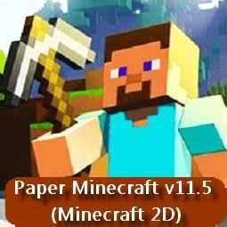 Paper Minecraft v11.5 (Minecraft 2D)