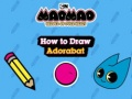 Jogar Mao Mao Heroes of Pure Heart How to Draw Adorabat Gratis Online