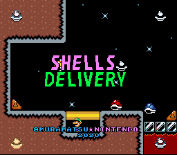 Super Mario World Hacks – Shells Delivery