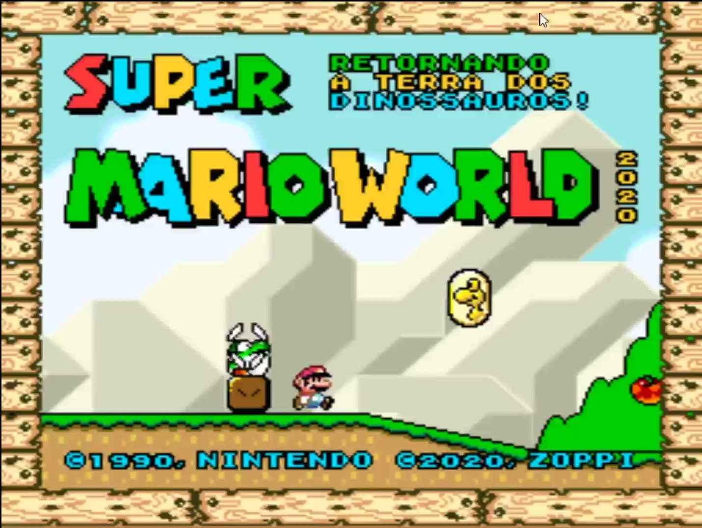 Super Mario World Retornando a Terra dos Dinossauros