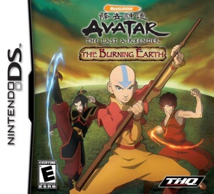 Avatar – The Last Airbender – The Burning Earth (USA) NDS