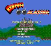 Dyna Blaster (Bomberman) – DOS