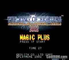 Kof 2002 Magic Plus