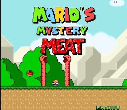 Mario's Mystery Meat by Eminus