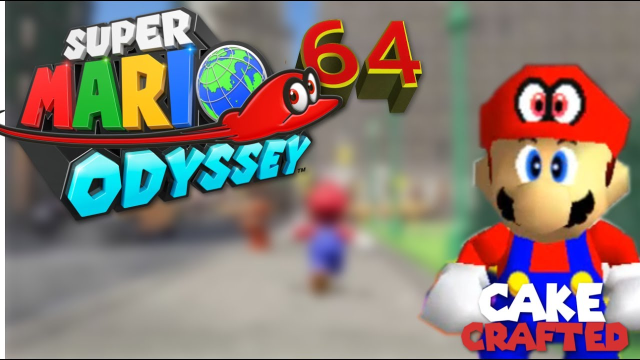 Super Mario Odyssey 64 V4