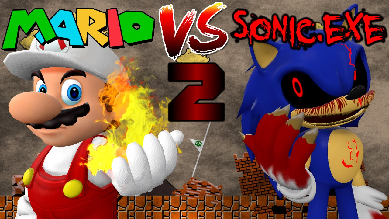 Mario vs Sonic.exe 2