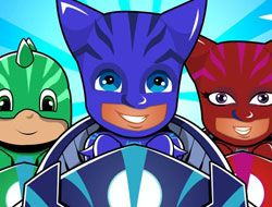 PJ Masks Kids Car Racing 3D