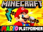 Minecraft Mario Platformer 1