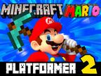 Minecraft Mario Platformer 2