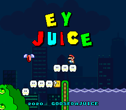Super Mario World – EY JUICE