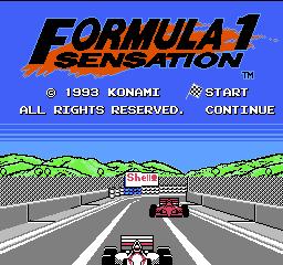 Formula 1 Sensation – NES