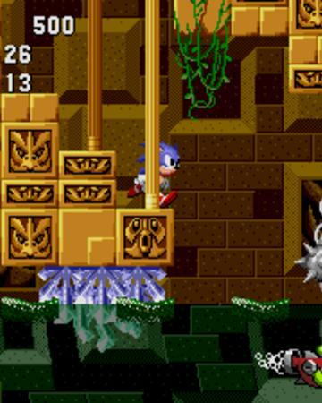 Sonic Underwater Labyrinth Zone