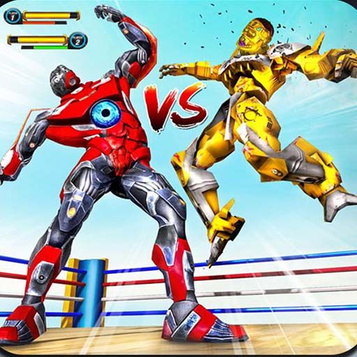 Robot Ring Fighting Wrestling