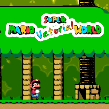 Super Mario Vetorial World