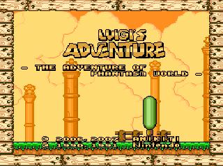 Luigi's Adventure – The Adventure of Phantasm World