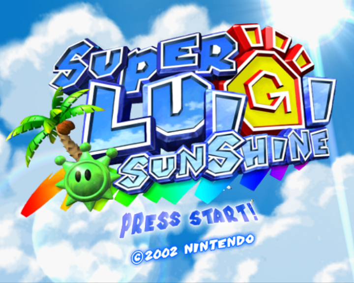 Super Mario Sunshine N64