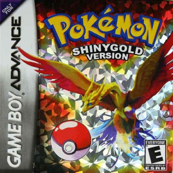 Pokemon Shiny Gold – GBA