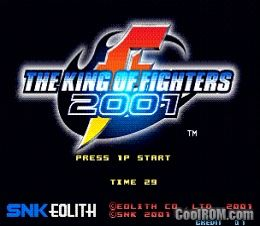 The King of Fighters 2001 (NGM-262?)