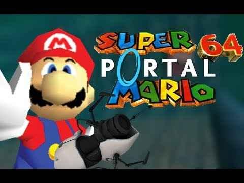 Mario Bros: Portal Mario 64