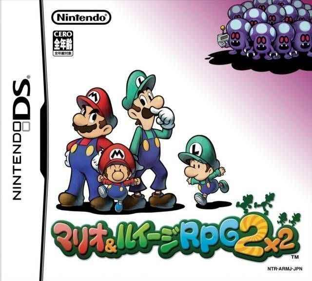 Mario & Luigi RPG 2×2